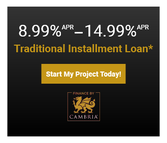 Get pre-approved now and start your project with these 3 special financing options