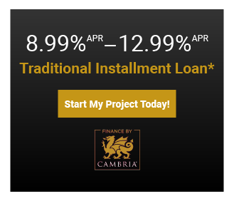 Start Your Project Today With These Special Financing Options